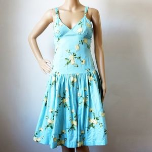 Cotton Candy LA Embroidered Floral Dress